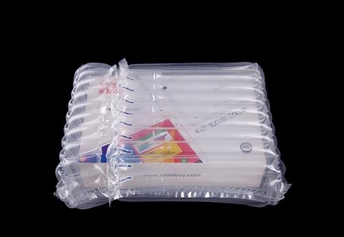 和大家探讨一下有关奶粉气柱袋是否能有效的运用于物流运输呢